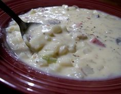 Yummy Chunky Potato Soup