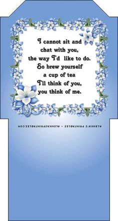 Prints of Joy Homemade Gifts, Homemade Cards, Craft Gifts, Diy Gifts, Tea Quotes, Quotes About Tea, Card Sayings, Picasa Web Albums, Pocket Letters