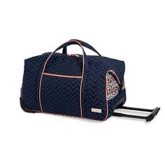 Carry-On Rolly Duffle, Neptune  http://www.bonkersforbags.com/cinda-b-carry-on-rolly-duffle-bag?variantId=1009