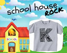 Kindergarten Back To School Youth Graphic Tee - Youth Large