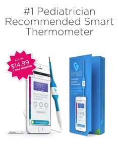 Baby Gear Baby Reasonable New Kinsa Smart Ear Thermometer An Indispensable Sovereign Remedy For Home