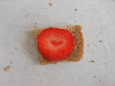 Love is...a strawberry!