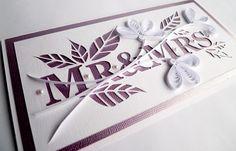 Mr & Mrs | Wedding Card for the Caardvark's challenge. TFL! | Agnieszka (ag-nee-eshh-kuh) | Flickr