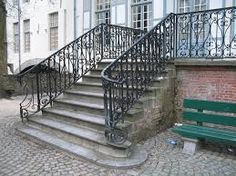 Image result for wrought iron railings exterior
