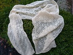Ravelry: jantjesmachknit's Shawl Lace by machine knitting