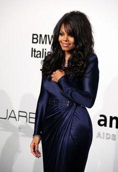 Janet Jackson....pretty hair