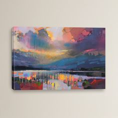 Found it at Wayfair - Lomond Light by Scott Naismith Painting Print on Wrapped Canvas