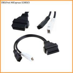 US $8.77 AQkey OBD2tool OBD2 2+2 Pin to 16Pin OBD 2 Female Adapter Connector Cable VAG Com for VW AUDI OBD-II VAG COM Diagnostic cable