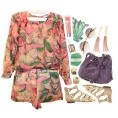 70s style jumpsuit