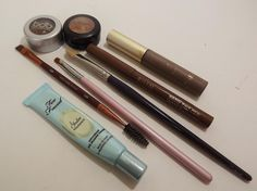 How To Fill Sparse Eyebrows (plus tips for oily T-zones) ~ A Brilliant Brunette