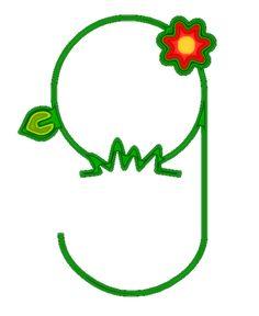 Alfabetos Lindos: Alfabeto Primavera - Letras com flores!