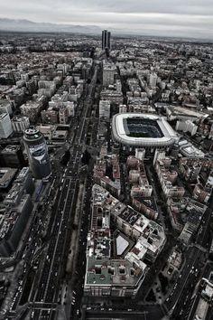 Aerial pictures of Madrid | Spain (by Álvaro García)