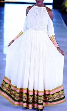 100 Amazing Modern & Traditional Dress (Habesha Kemis/Kemise) of Ethiopia in 2019 — allaboutETHIO Ethiopian Traditional Dress, African Traditional Dresses, Traditional Outfits, Modern Traditional, Ethiopian Wedding Dress, Ethiopian Dress, African Print Fashion, Africa Fashion, Habesha Kemis