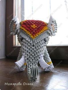 Origami 3d Elephant Instructions #1