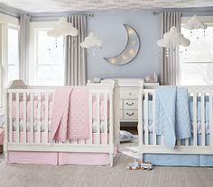 Pink Chevron Ikat Nursery Bumper Bedding Set: Bumper, Organic Crib Fitted Sheet & Crib Skirt