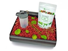 Vegane Box - Potful Power Silber - Geschenkbox - Potful-Power Geschenkboxen - Mehr entdecken! - ideas in boxes - dekorierte Geschenkboxen