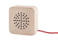 Kikkerland Design Inc » Products » Wood Speaker