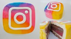 instagram cake new logo how to cook that