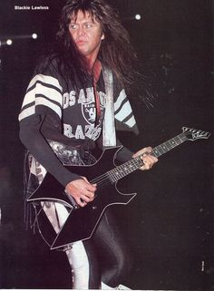 Blackie Lawless of W.A.S.P. The Headless Children era #BlackieLawless #wasp