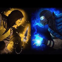Scorpion VS Sub-Zero, the ultimate Mortal Kombat showdown!! Who would win this epic battle to the death between these two skilled assassins?!!! Let's hear what you think, and why! Oh Sega, how I miss you and those original MK games. #subzero #MK #mortalkombat #ice #mortal #kombat #bihan #kauiliang #freeze #fatality #finishhim #snow #cryo #cyrokinetic #frost #iceman #netherrealm #earthrealm #scorpion #getoverhere #hanzohasashi #kunai #hapkido #infernoscoprion #spear #hellfire #hell #toasty…