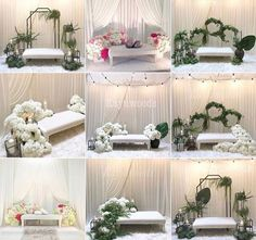 small backdrop wedding Under Wear underwear as outerwear Wedding Backdrop Design, Bohemian Wedding Decorations, Wedding Props, Wedding Wreaths, Wedding Stage, Bridal Shower Decorations, Pelamin Simple, Diy Pelamin, Wedding Preparation