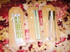 New target Dollarspot holiday collection: pens, gel pens & mechanical pencils- Nov 2015