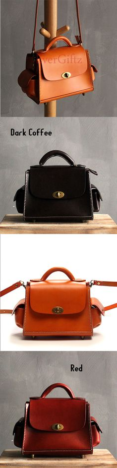 5728de0c56b8 Handmade leather vintage women purse satchel bag shoulder bag crossbody bag.  Leather Bags Handmade ...