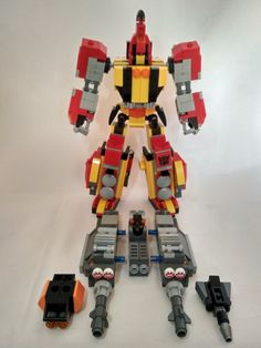 My legolize version of Transformers Headstrong.