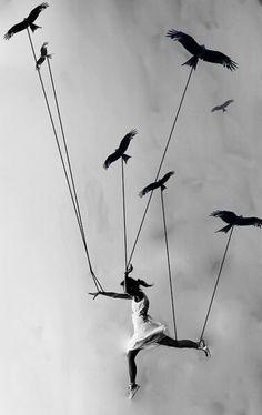 Quiero Volar! Pues cierra los ojos y siente que Vuelas...