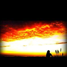 Santa Cruz sunsets