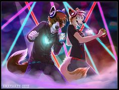 EDIT: Reason they're wearing headphones/using ipods is cause I'm lame and didn't realize it @v@ Let's pretend they're imagining themselves at da club OR IT COULD BE A COMMERCIAL FOR DEM HEADPHONES ...