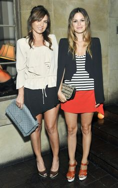 Rachel Bilson wearing Vanessa Bruno Blazer and Vanessa Bruno Skirt.