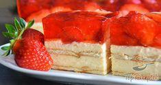 Fantastická pruhovaná torta so smotanovým syrom a kakaom! Czech Desserts, Y Recipe, Czech Recipes, Summer Cakes, Cake Bars, No Bake Cake, Food Dishes, Baked Goods, Sweet Recipes
