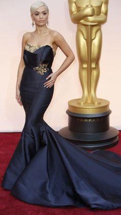 #Oscars2015 Looking elegant for once! Rita Ora
