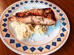 Σολομός με μέλι και μουστάρδα Pork, Meat, Kale Stir Fry, Pork Chops