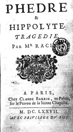 Jean Racine: Phèdre (1677) August Strindberg, Saint Chapelle, Dark Fairytale, Dreams And Nightmares, Paris, Bibliophile, Fairy Tales, Literature, Samuel Beckett