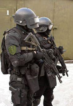"opdownrange: ""Operators from SOBR Lynx CSN MVD Russian unit """