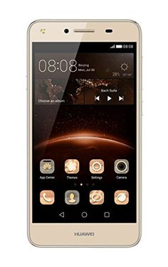 awesome Huawei Y5 II 8GB 4G Oro - Smartphone (SIM doble, Android, MicroSIM, EDGE, GPRS, GSM, UMTS, WCDMA, LTE)