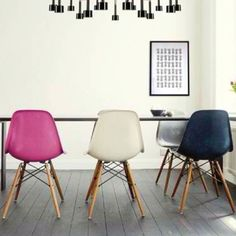 Eams chairs/colors