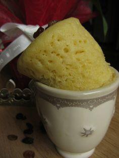 Mug cake frangipane