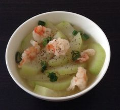 Vietnamese comfort food. Canh Bi Dau. This soup always warms my heart and it's healthy too. Great for Lent Fridays.