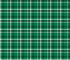 Christmas Green Plaid fabric by binge_crafter on Spoonflower - custom fabric