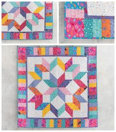 Stitch up your favorite DreamWorks Trolls with this quick and easy quilt. Create the diamond illusion with half-square triangles, and the top (including binding) with just one fat quarter bundle and a yard of background fabric — no inset seams required. Easy Quilt pattern. Affiliate link.
