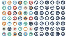 30 Beautiful and Fresh Icon Sets for Free #icon