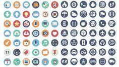 Beautiful Flat Icons Free