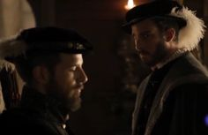 The Habsburgs: Charles V and his younger brother Ferdinand in episode 15 of the Spanish historical drama Carlos, Rey Emperador
