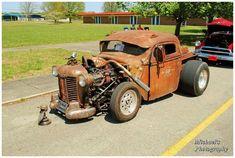 rat rod #ford #pickup Dodge Trucks, Old Trucks, Pickup Trucks, Semi Trucks, Truck Drivers, Dually Trucks, Custom Go Karts, Rat Rod Cars, Rat Rods
