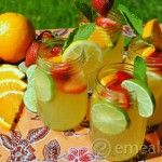 Fruity White Sangria - No alcohol in this recipe, good for baby showers