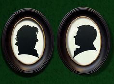 Sherlock Holmes and John Watson Handcut Paper Silhouette Set, BBC Sherlock, Martin Freeman, Benedict Cumberbatch, Wall Art, Geeky Home Decor by GeekCutsPaperWorks on Etsy https://www.etsy.com/listing/219869924/sherlock-holmes-and-john-watson-handcut