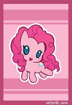 Pinkie Pie  by ~Mishiri  Source: http://mishiri.deviantart.com/gallery/#/d5aerpv